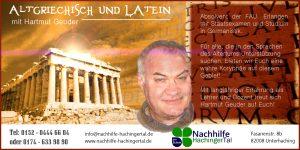 Sprachen des Altertums – Altgriechisch und Latein mit Hartmut Geuder